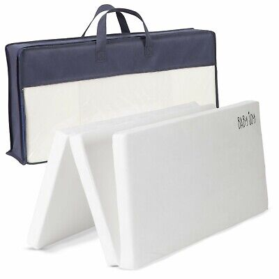 Baby Joy Baby Toddler Cot Bed Travel Mattress Extra Thick Luxury 95 x 65 x 4cm