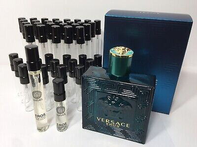 Versace Eros by Gianni Versace EDT Cologne for Men LARGE 5ml or 10ml Sample
