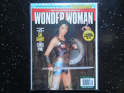 The Ultimate Guide To Wonder Woman - Collector's Edition Magazine ( EW )