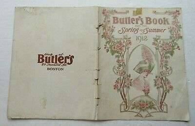 Butler's Book For The Spirng & Summer 1912 Woman's Fashion Butler Depart. Store