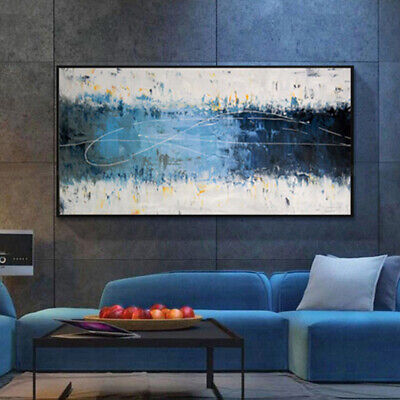 VV633 Modern Hand Painted large abstract Oil Painting on canvas frameless