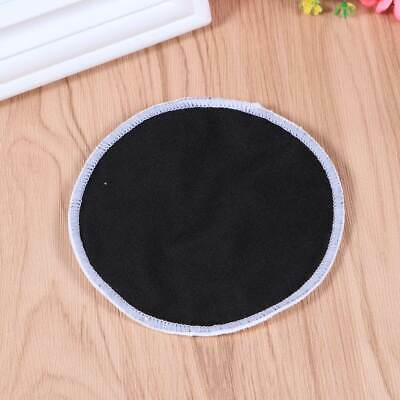 12pcs Pads Practical Reusable Round Simple Washable Bamboo Fiber Pads for Female
