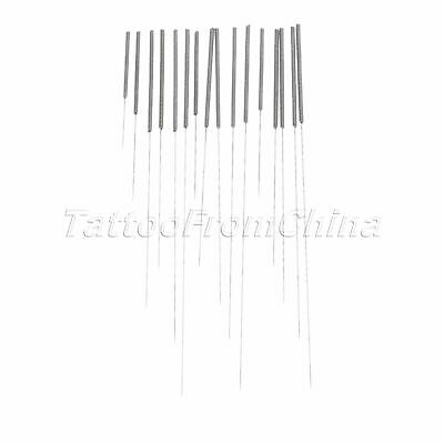 100/200pcs Disposable Acupuncture Stanless Steel Handle Needles with Guide Tube