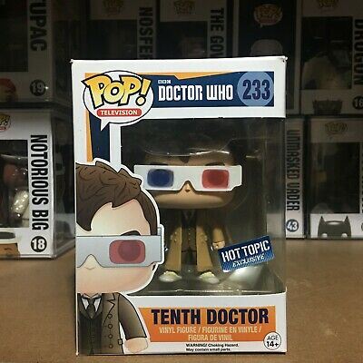 Funko Pop Doctor Who 233 Hot Topic Exclusive Tenth Dr