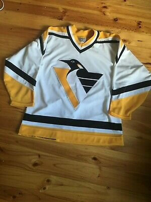 90's NHL Pittsburgh Penguins CCM Center Ice Authentic Jersey Size 48