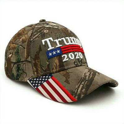 Donald Trump 2020 Cap Hat Embroidered Keep America Great Again MAGA President