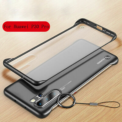 Frameless Acrylic Matte Shockproof Cover Case For Huawei P30 Pro Honor 20 Mate20