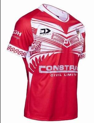 2019 -2020 Tonga Home Rugby jerseys T-shirt man Size :S-3XL