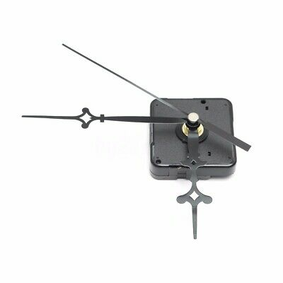 Black DIY Quartz Battery Clock Movement Motor Mechanism With Hands&Fittings Kit