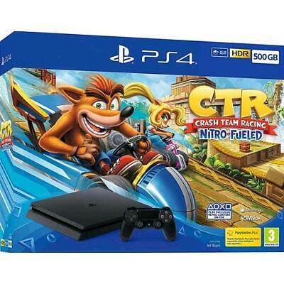 Sony Ps4 Console 500Gb F Chassis Slim + Crash Team Racing Nitro Fueled Sony