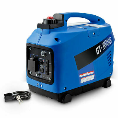 NEW GENFORCE Inverter Generator 2kVA Max 1.7kVA Rated Portable Camping Petrol