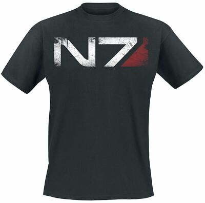 Mass Effect T-Shirt N7 LC Exclusive Size M Loot Crate shirts
