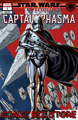 Star Wars Aor Captain Phasma #1 (2019) 1St Printing Mckone Puzzle Variant Cover