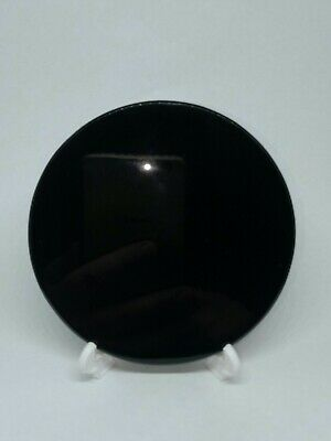 10cm BLACK OBSIDIAN ( DRAGON GLASS) SCRYING MIRROR - FREE AU POSTAGE