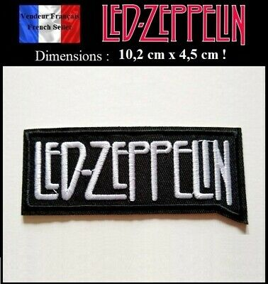 Écusson Brodé Thermocollant NEUF ( Patch Embroidered ) - Led Zeppelin ( Ref 1 )