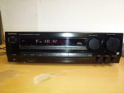 Kenwood KR-A4070 RDS Stereo AM/FM Receiver With Remote-Superb Sound