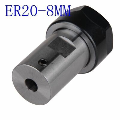 Replacement Tool Holder ER20A 8mm Extension Accessories Kit Shaft Collet