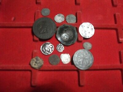 Mixed Ancient Coins. silver and bronze  Roman Greek European