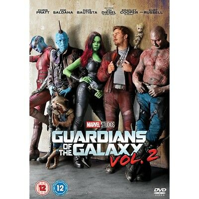 Guardians of The Galaxy: Vol. 2 - DVD, 2017 Marvel