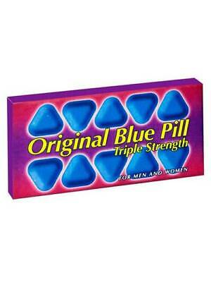 Blue Triple Strength For Better Sexual Experience/Satisfaction (RRP £28)