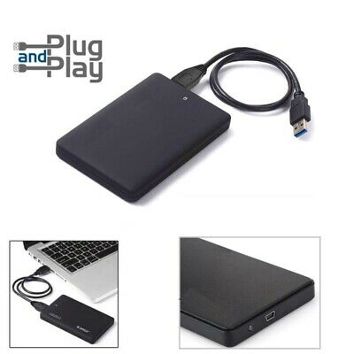 "Ultra Slim USB 3.0 External 2.5"" Hard Drive UPTO 1TB Next Day HDD/SSD-XBOX/PS4"