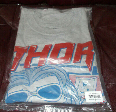 "Funko POP! Avengers Endgame Thor ""Pajama Party"" T-Shirt (XL) (Marvel Col. Corps)"