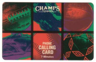 7u Champs Sports (Football, Baseball, Basketball, Etc) SPECIMEN Phone Card