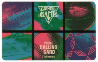 7u Going To The Game (Football, Baseball, Basketball, Etc) SPECIMEN Phone Card