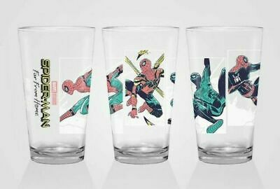 Alamo Drafthouse Spider-Man Far From Home Pint Glass MONDO (IN HAND)