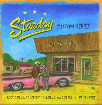 Starday Records los Años 50 Rockabilly Hillbilly Gospel 500-675 (10-CD Caja) -