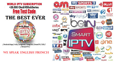 IPTV SUBSCRIPTION, MORE than 5500+ channel from the best selection
