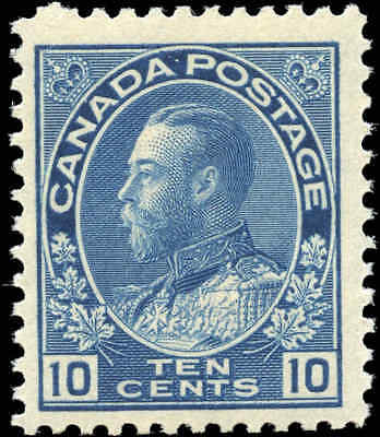 1922 Mint Canada Scott #117a 10c Admiral King George V Issue Stamp Hinged