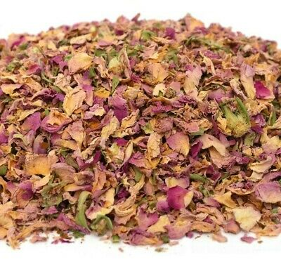 Damascus Rose Petals - Tea Infusion Cake Decor Cooking Gin Coctail Garnishes