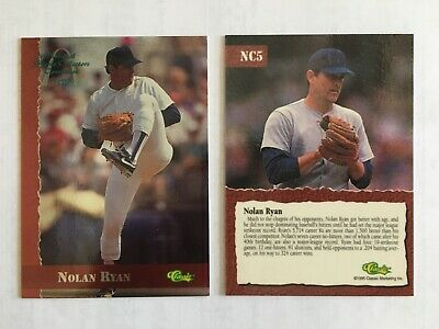 Nolan Ryan 1995 Classic #NC5 16th National Sports Collector's Convention Promo
