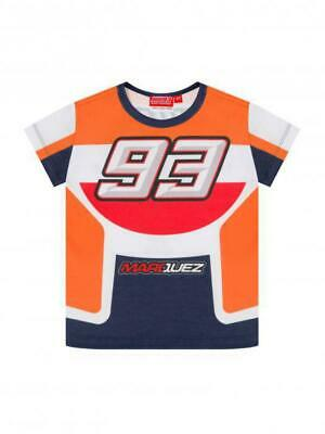 kid's T-shirt Marc Marquez Repsol Colors official Moto GP collection located in