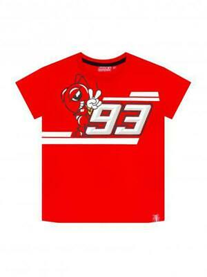 Kid's T-Shirt Marc Marquez Ant cartoon 93 official Moto Gp collection Located in