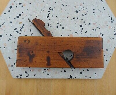 Vintage Antique A. Mathieson & Sons Timber Wood Plane