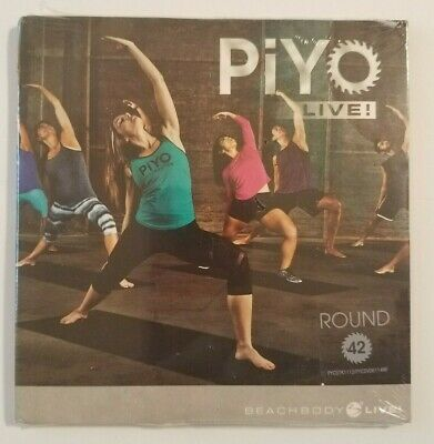 Beachbody PIYO Live Instructor CD, DVD, Notes, Round 42, New in Package! SEALED