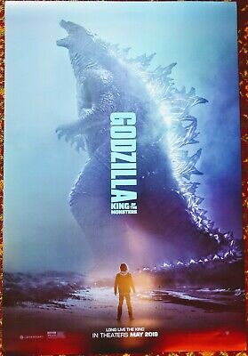 GODZILLA KING OF THE MONSTERS Movie Poster 27 x 40 DS Authentic Teaser Version