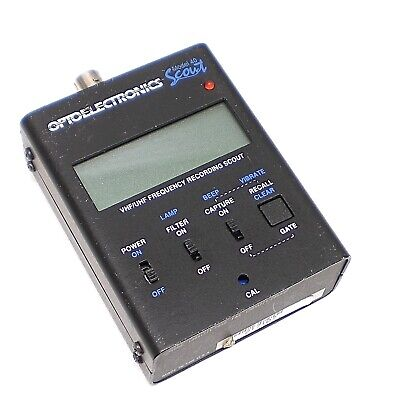 OPTOELECTRONICS SCOUT FREQUENCY COUNTER, 10Mhz -1.4Ghz