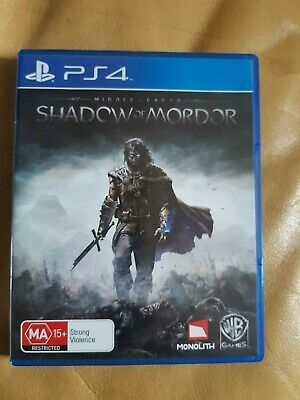 Middle Earth SHADOW OF MORDOR for Playstation 4