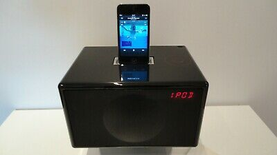 Geneva Model S iPod Dock+FM Radio and Alarm Hifi Speaker Black