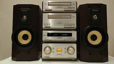 Technics SC-HD550 HiFi Component System CD,Tape Tuner Amp Free Bluetooth Adaptor