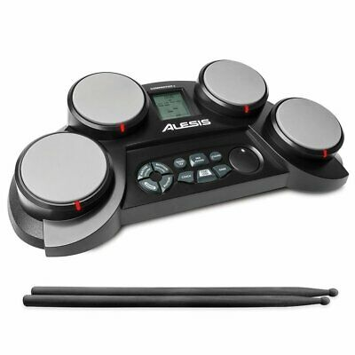 Alesis Compactkit 4 | Portable 4-Pad Tabletop Electronic Drum Kit Wit From Japan