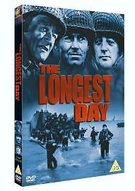 The Longest Day DVD New & Sealed 5039036014946