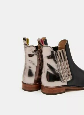 73589d96b2d JOULES WESTBOURNE LEATHER Chelsea Womens Boots - Ocelot UK Size 6 ...