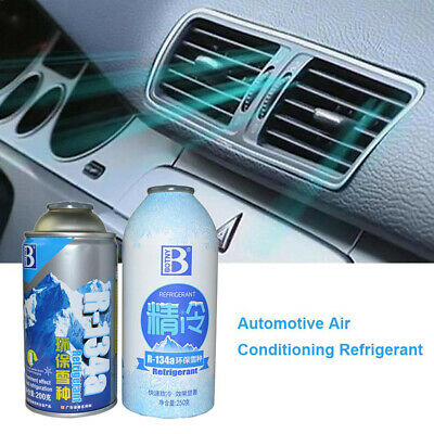 R134A Air Conditioning Vehicle Automotive Refrigerant 200g Iron/Aluminum Cans UK