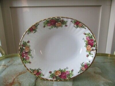 Royal Albert Old Country Roses Oval Serving Bowl