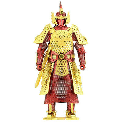 Fascinations Metal Earth Chinese (Ming) Armor Unassembled Color 3D Metal Model