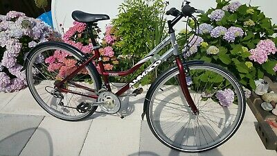 Ammaco Classique Traditional Heritage Girls or Small Lady Lifestyle Bike 24 Wheel 14 Frame Pink /& Basket